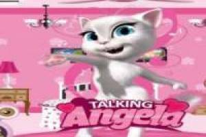 Talking Angela: Decorar la habitación