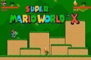 Free Super mario world x Game