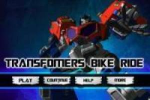 Transformers: Optimus Prime en moto