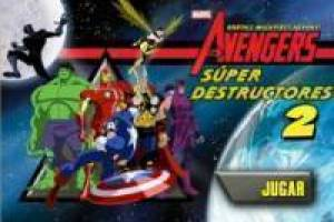 Free The Avengers: Super Destruction Game