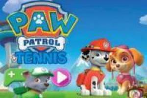 Free Paw Patrol Tennis Game