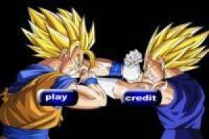 Juego Goku vs Vegeta point and click para jugar gratis online