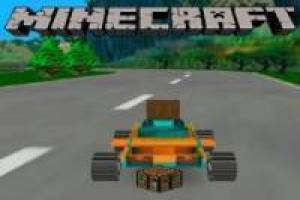 Free Minecraft in kart Game