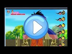 youtube, gameplay, video: Goku Dress up
