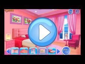 youtube, gameplay, video: Decorare casa rosa