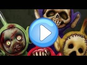 youtube, gameplay, video: Slendytubbies: Teletubbies terroríficos