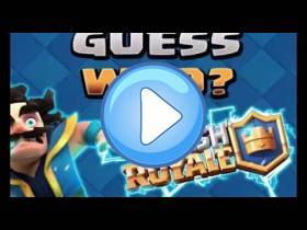 youtube, gameplay, video:  ¿Quién es? Clash Royale