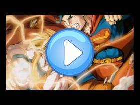 youtube, gameplay, video: Goku vs Superman, animación