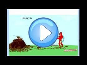 youtube, gameplay, video: Doodieman game