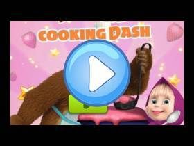 youtube, gameplay, video: Masha y el oso: Cocinan para los animales