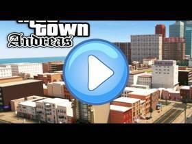 youtube, gameplay, video: Verrückte Stadt San Andreas