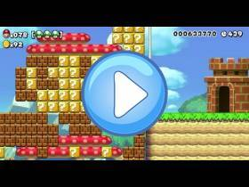 youtube, gameplay, video: Mario Maker
