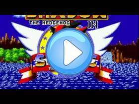 youtube, gameplay, video: Shadow dans Sonic: On Line