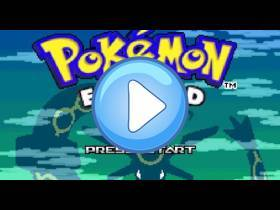 youtube, gameplay, video: Zümrüt Pokémon GBA