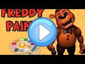 youtube, gameplay, video: Freddy Paint