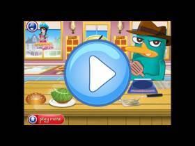 youtube, gameplay, video: Cocina con Perry hamburguesas americanas