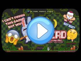 youtube, gameplay, video: Weird Bunny Banana and his Girlfriend