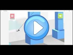 youtube, gameplay, video: Fly With Rope en línea