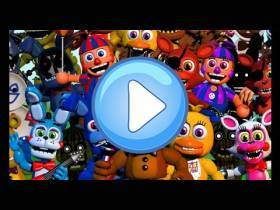 youtube, gameplay, video: Rompecabezas: FNAF World