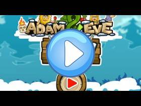 youtube, gameplay, video: Adam a Eva: Sníh