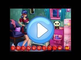 youtube, gameplay, video: Ladybug: Decora la habitación de maternidad